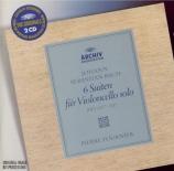 BACH - Fournier - Six suites pour violoncelle seul BWV 1007-1012