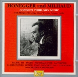 Honegger and Milhaud conduct their own music