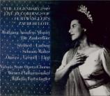 MOZART - Furtwängler - Die Zauberflöte (La flûte enchantée), opéra en de Live Salzburg 27 - 7 - 1949