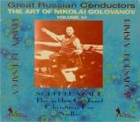 RIMSKY-KORSAKOV - Golovanov - Shéhérazade Op.35