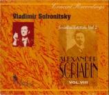 SCRIABINE - Sofronitsky - Fantaisie pour piano op.28 (Vol.8) Vol.8