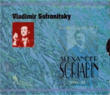 SCRIABINE - Sofronitsky - Sonate pour piano n°9 op.68 'Messe noire' Vol.11