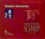 SCRIABINE - Sofronitsky - Poème op.32 n°1 (Vol.14) Vol.14
