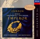 BEETHOVEN - Curzon - Concerto pour piano n°5 op.73 'Empereur'
