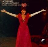 VERDI - Gatto - La traviata, opéra en trois actes live Bologna 19 - 2 - 1974