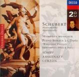 SCHUBERT - Schiff - Six moments musicaux, pour piano op.94 D.780
