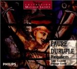 FAURE - Fournet - Requiem pour voix, orgue et orchestre en ré mineur op