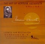 BEETHOVEN - Abendroth - Symphonie n°9 op.125 'Ode à la joie' The Art of Hermann Abendroth Vol.2