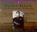 DVORAK - Talich - Huit danses slaves op.72, version pour orchestre B.147