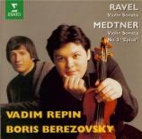 MEDTNER - Repin - Sonata epica, pour violon n°3 op.57