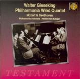 MOZART - Gieseking - Quintette pour piano, hautbois, clarinette, cor et