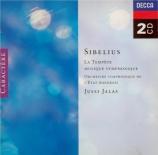 SIBELIUS - Jalas - Stormen (La tempête) : deux suites pour orchestre op
