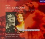 MOZART - Bonynge - Don Giovanni (Don Juan), dramma giocoso en deux actes