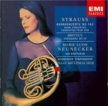 STRAUSS - Neunecker - Concerto pour cor n°1 op.11