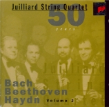 BEETHOVEN - Juilliard Strin - Quatuor à cordes n°9 op.59-3 'Razoumovsky