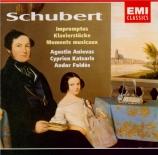 SCHUBERT - Anievas - Quatre impromptus, pour piano op.90 D.899