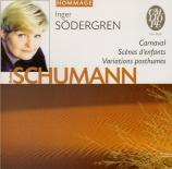 SCHUMANN - Södergren - Kinderszenen (Scènes d'enfants), treize pièces po