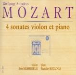 4 Sonates pour violon et piano