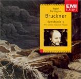 BRUCKNER - Norrington - Symphonie n°3 en ré mineur WAB 103