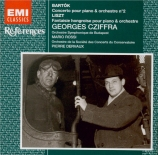 BARTOK - Cziffra - Concerto pour piano n°2 Sz.95 BB.101