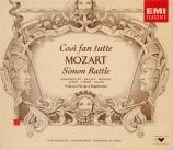 MOZART - Rattle - Cosi fan tutte (Ainsi font-elles toutes), opéra bouffe