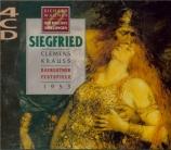 WAGNER - Krauss - Siegfried WWV.86c (live Bayreuth 1953) live Bayreuth 1953