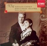 WOLF - Upshaw - Italienisches Liederbuch, cycle de mélodies pour voix et