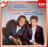MAGNARD - Dumay - Sonate pour violon et piano op.13