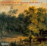 HAYDN - Salomon String - Quatuor à cordes n°65 en do majeur op.64 n°1 H