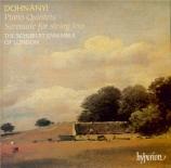 DOHNANYI - Schubert Ensemb - Quintette avec piano n°1 op.1