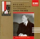 MOZART - Fischer - Concerto pour piano et orchestre n°25 en do majeur K