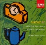 DUTILLEUX - Ogdon - Sonate pour piano op.1
