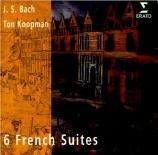 BACH - Koopman - Suite française n°1, pour clavier en ré mineur BWV.812
