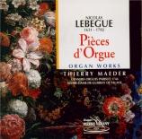 LEBEGUE - Maeder - Pièces pour orgue