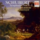 SCHUBERT - Blomstedt - Symphonie n°1 en ré majeur D.82