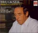 BRUCKNER - Suitner - Symphonie n°8 en ut mineur WAB 108