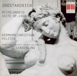 CHOSTAKOVITCH - Sanderling - Suite pour basse et orchestre sur des poème