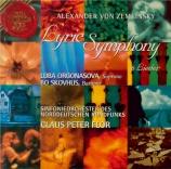 ZEMLINSKY - Flor - Symphonie lyrique op.18