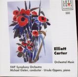 CARTER - Gielen - Concerto pour piano