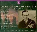 Szigeti Vol.1 (Ctos. violon)