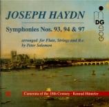 HAYDN - Camerata of the - Symphonie n°93 Hob.I.93