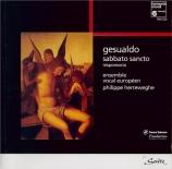 GESUALDO - Herreweghe - Repons de ténèbres du Samedi Saint