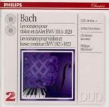 BACH - Grumiaux - Sonate pour violon et clavier n°1 en si mineur BWV.101