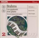 BRAHMS - Beaux Arts Trio - Quatuor avec piano n°1 en sol mineur op.25