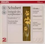 SCHUBERT - Sawallisch - Symphonie n°1 en ré majeur D.82