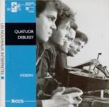 L'oeuvre pour quatuor à cordes