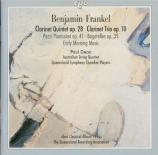 FRANKEL - Australian Stri - Quintette avec clarinette op.28