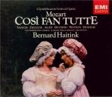 MOZART - Haitink - Cosi fan tutte (Ainsi font-elles toutes), opéra bouff
