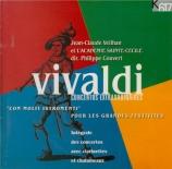 VIVALDI - Veilhan - Concerto pour deux clarinettes, deux hautbois, corde