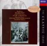 BEETHOVEN - Szell - Egmont, musique de scène pour orchestre op.84